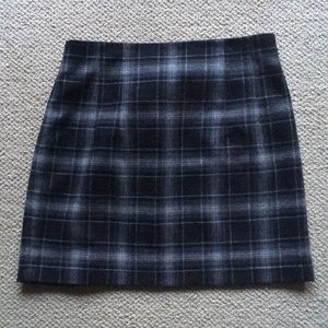 French Connection wool mini skirt, size 6